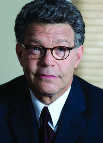 Al Franken has put the comedy shtick on hold, as he makes the transition to lawmaking in the U.S. Senate.