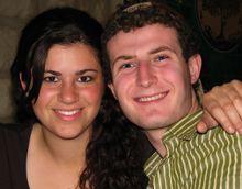 Emily Weiner and Ethan Buckner