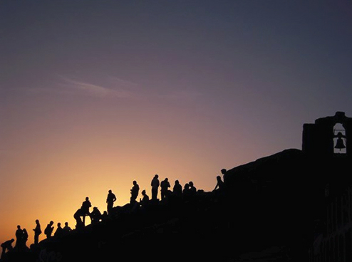 Kyla Siedbands photo, Sinai Sunrise, was the winner in the Grades 10-12 photography category.